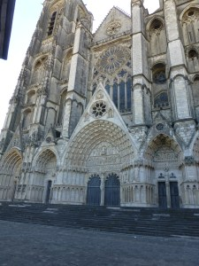 St. Stephen's Cathedral i Bourges