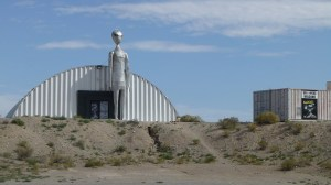 The Alien Research Center in Crystal Springs. Snoopers welcome!