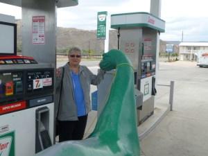 Me with the Sinclair dinosaur
