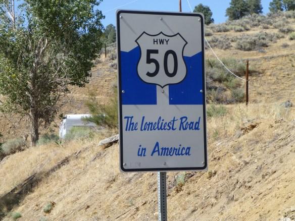Highway 50 in Nevada