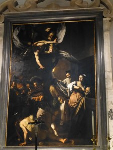 Caravaggio's  The Seven Works of Mercy