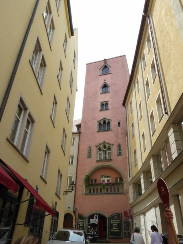Pink patrician tower