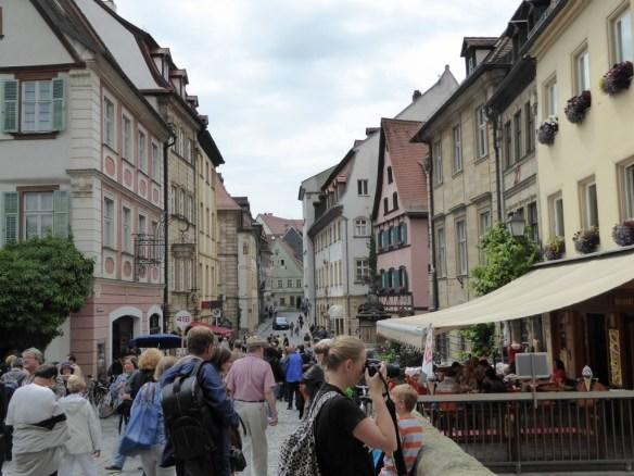 Typical Bamberg street