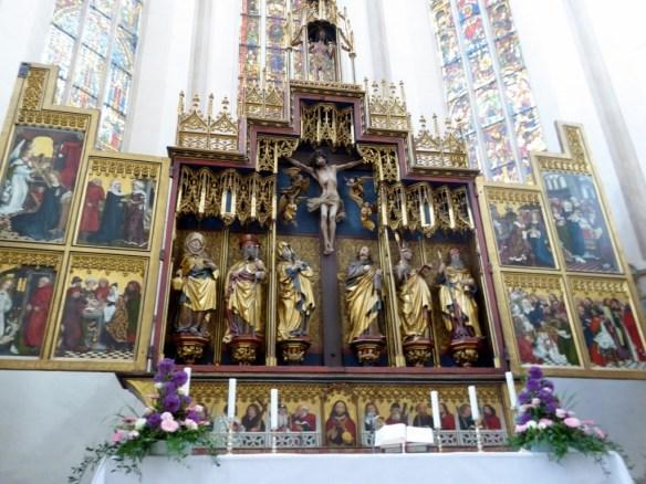 Altarpiece of the Twelve Apostles, St. Jacob's