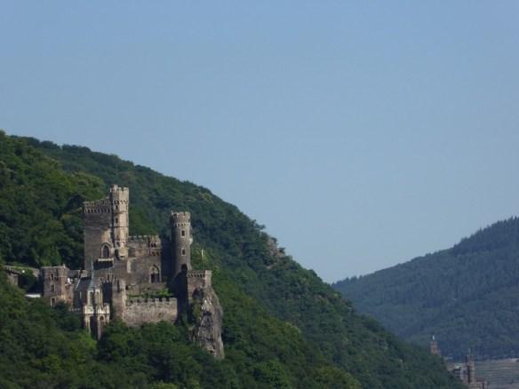 Castle along the Rhine