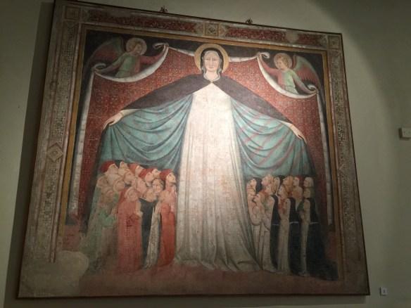 Madonna Misericordia,1414 Giovanni d'Agnolo di Balduccio