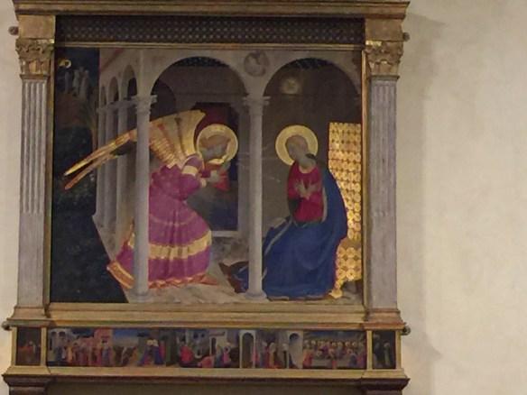 Annunciation by Fra Bartolomeo