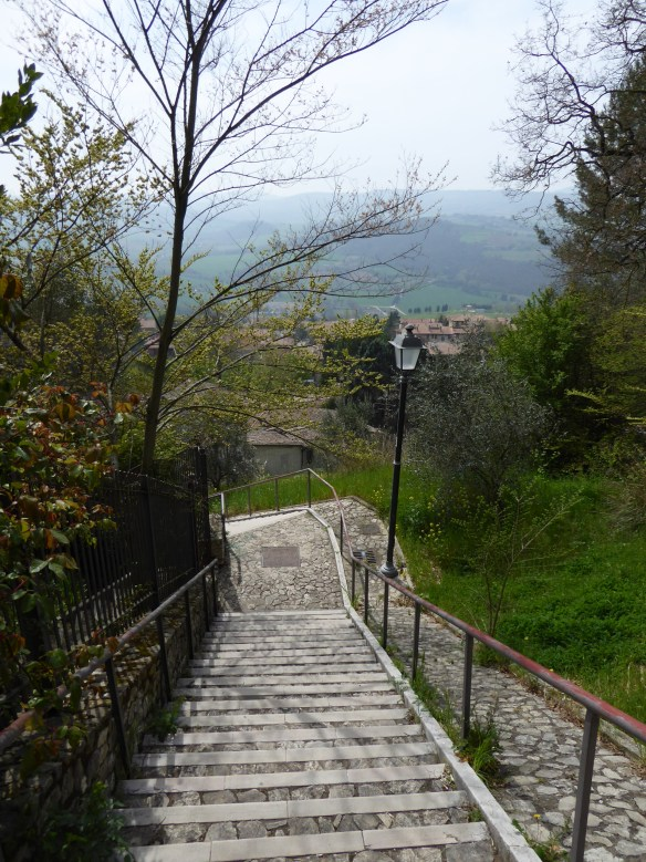 Stairs in Todi