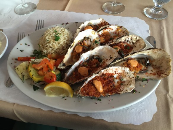 John's baked oysters