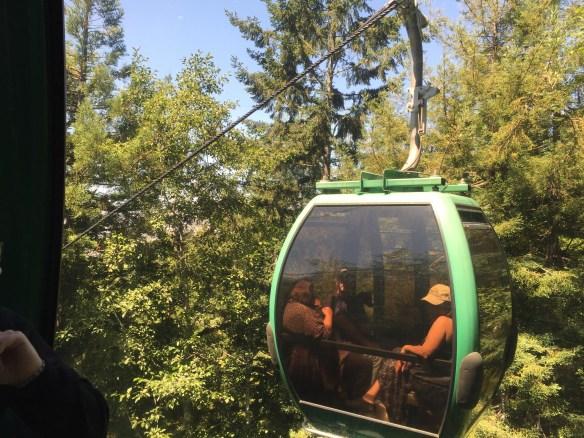 A passing gondola