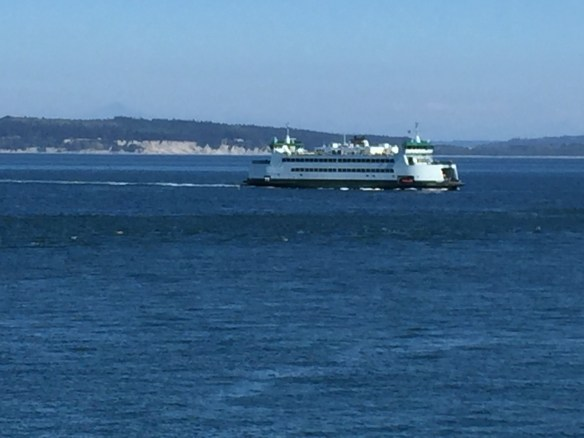 Our sister ship crossing back to Port Townsend
