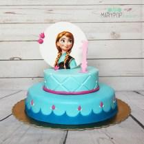 Torta Anna di Frozen