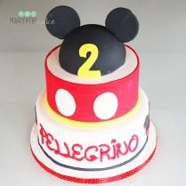 Topolino per festeggiare un secondo compleanno.