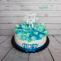 torta bouquet di fiori buon compleanno