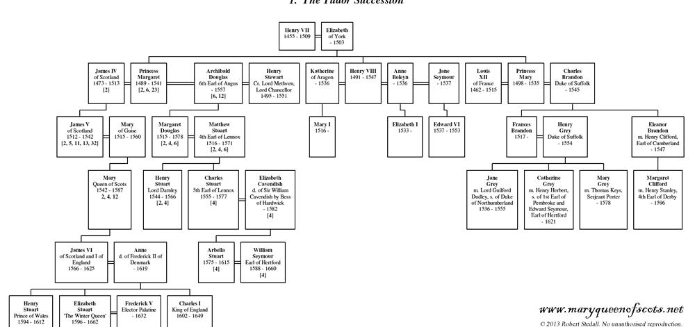 The Tudor Succession