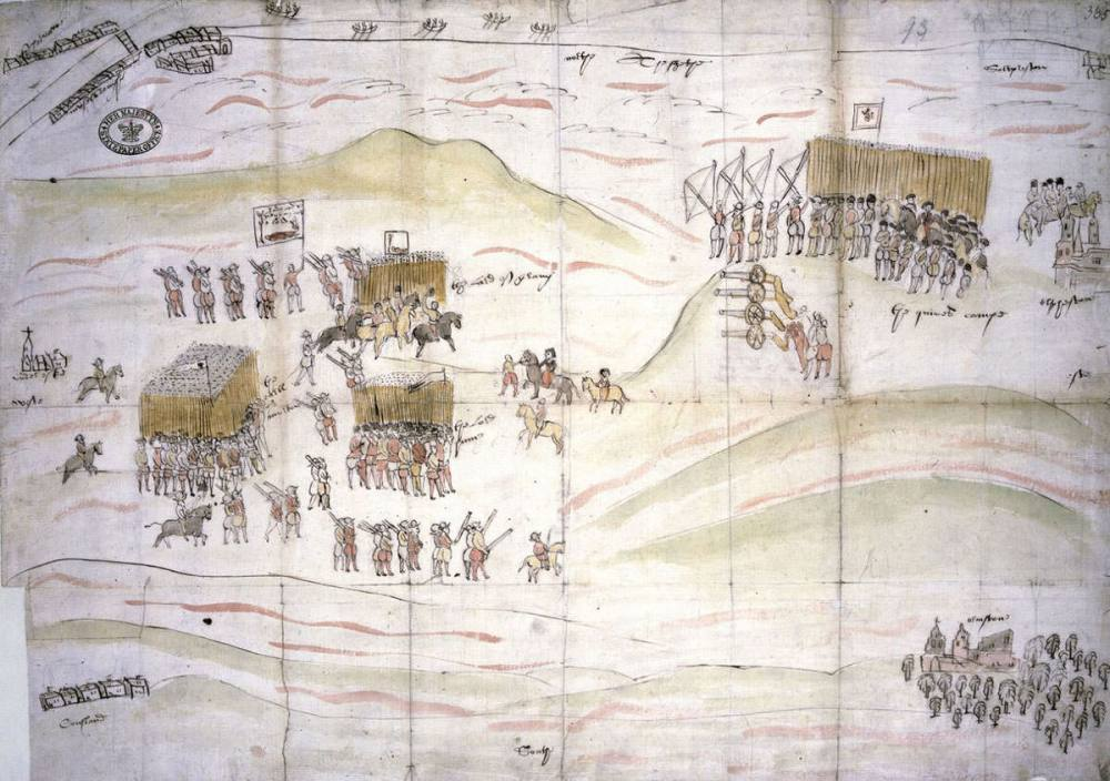 The Battle of Carberry Hill, 15th June 1567
