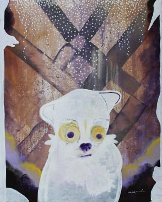 """I Need a Hug // acrylic on canvas // 20"""" x 16"""""""
