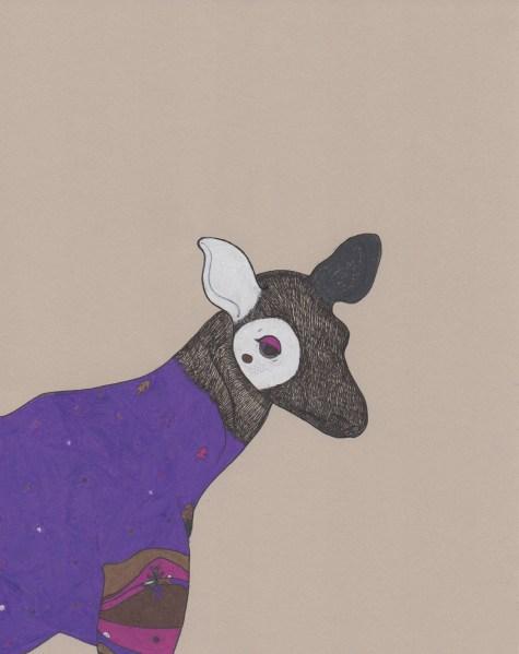 """Okapi // 7"""" x 5"""""""