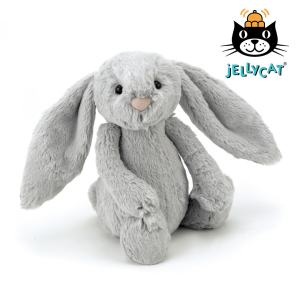 Jellycat Silver Bashful Bunny Medium
