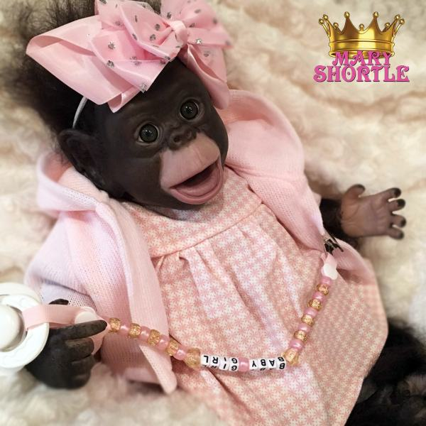 Berry Reborn Monkey Mary Shortle