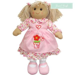Flower Pot Rag Doll Powell Craft Boutique Mary Shortle
