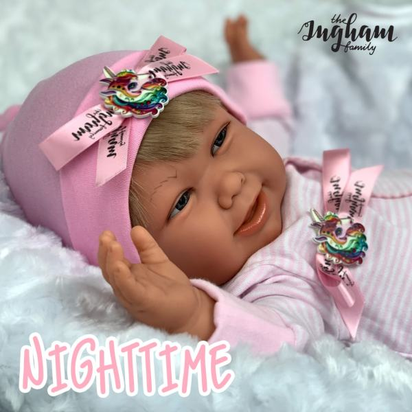 Nighttime Phoebe Play Doll The Ingham Family Mary Shortle