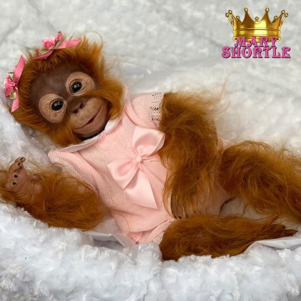 Mary Shortle Reborn Fifi Monkey