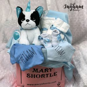 Mary Shortle The Ingham Family Hamper Blue