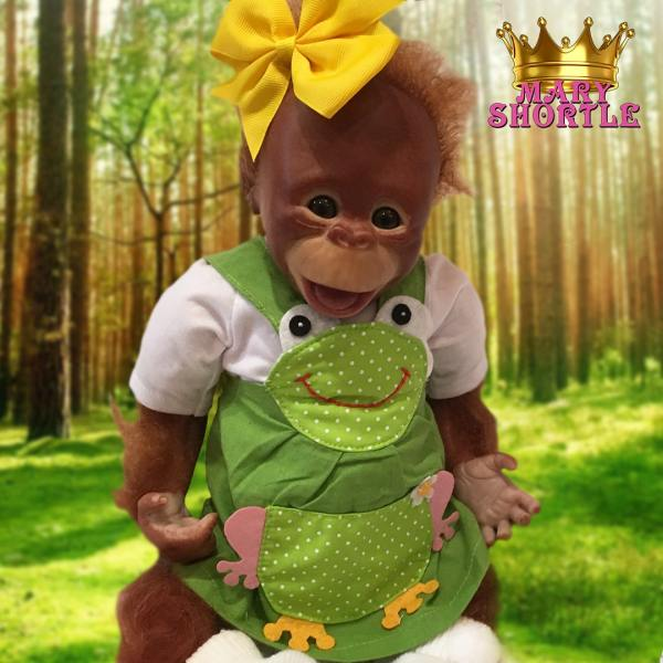Freda Reborn Monkey Mary Shortle