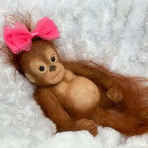 Poppet Silicone Monkey Mary Shortle