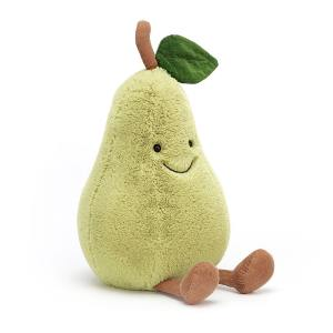 Amuseable Pear Jellycat Teddy Mary Shortle