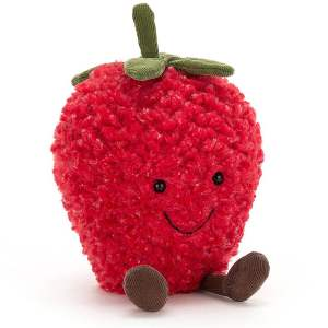 Amuseable Strawberry Jellycat Teddy Mary Shortle