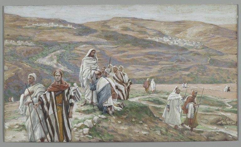 12 Mark 7 Sends Jesus 11 Out 6