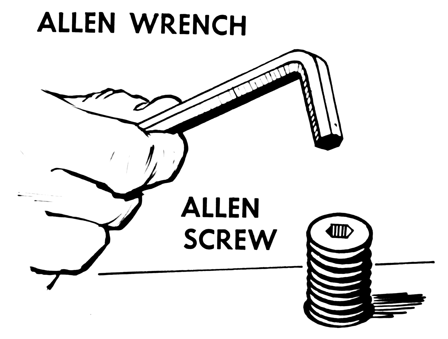 File Allen Wrench And Screw 001