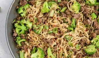 Gluten Free Beef & Broccoli Ramen