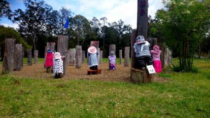 IM12 Scarecrow Name: Time out Owner: Brooloo Community Centre Mary Valley Highway (Brooloo Hall) Brooloo 4570 Registration Centre: Imbil Category: Artistic