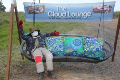 IM15 Scarecrow Name: Loungechair Larry Owner: Nelson Corbett 315 Kandanga Imbil rd Imbil 4570 Registration Centre: Imbil Category: Artistic