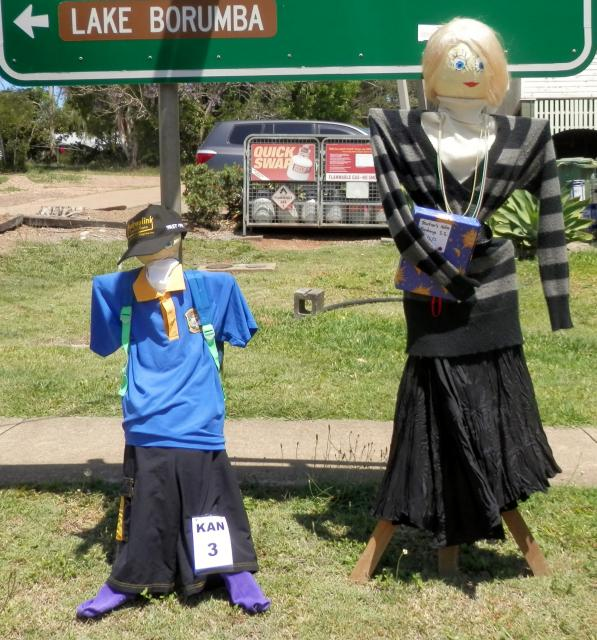 KA03 Scarecrow Name: Teachers Pet Owner: Friends of Kandanga 50 Main Street Kandanga 4570 Registration Centre: Kandanga Category: Traditional