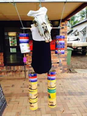 KEN10 Scarecrow Name: Angelica Owner: Kenilworth Pizza 14 Elizabeth Street Kenilworth 4574 Registration Centre: Kenilworth Category: Artistic