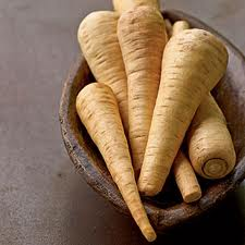 this is a parsnip. naturally sweet & high in minerals.