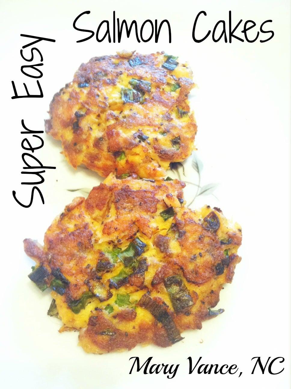 Easy Salmon Cakes Paleo