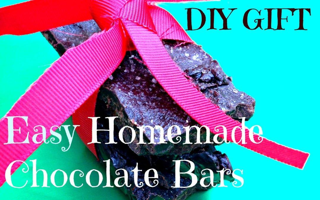 DIY Superfood: Easy Homemade Chocolate Bars
