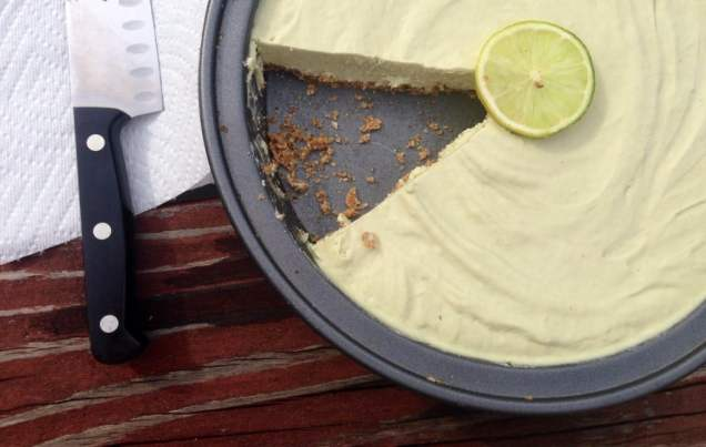 Raw Paleo Key Lime Pie (Vegan: Grain, Dairy, Egg Free)
