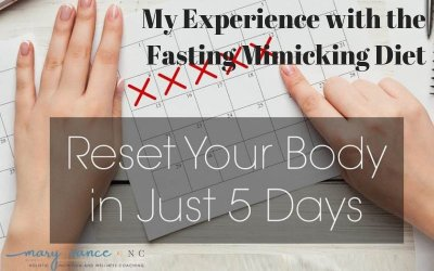 Fasting Benefits Without Fasting: My 5 Days on the Fasting Mimicking Diet