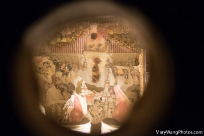 Peephole diorama in Totem of Confessions