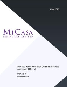 Mi Casa Community Needs Survey Report