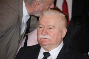 Lech Wałęsa Friedensnobelpreisträger und Staatspräsident a.D.