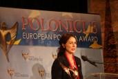 Aldona Głowacka-Silberner, Vorsitzende des Verbindungsbüros der Polnischen Organisationen in Hannover und Niedersachsen
