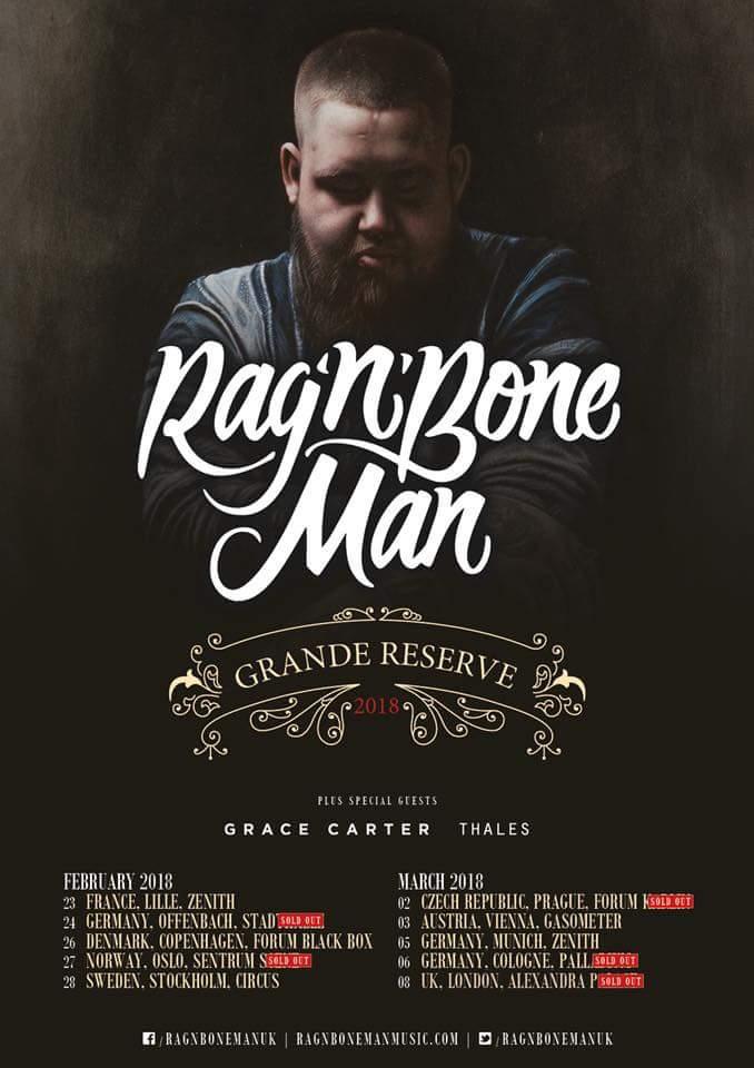 Rag'n'bone Köln Konzert