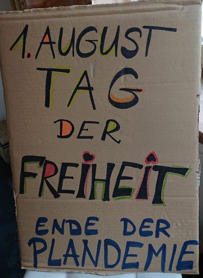 1. August,  Tag der Freiheit , Berlin